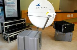 Mobile Two way Satellite Internet